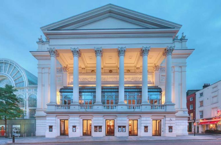 The Royal Opera House entrance on Bow Street © ROH 2012